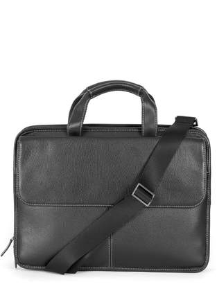 Boconi Tyler Leather Briefcase