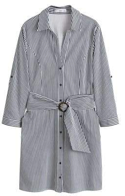 MANGO Belt shirt dress