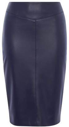 Karen Millen Faux Leather Pencil Skirt