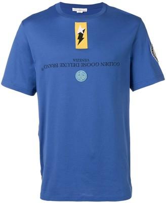 Golden Goose reversible printed logo T-shirt