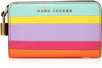 Marc Jacobs The Grind ColourblockCompact Wallet