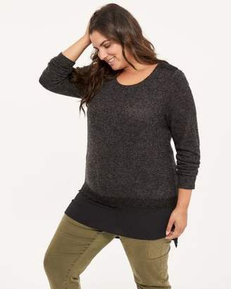 Penningtons Black Top with Lace - In Every Story