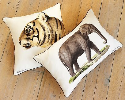 Safari Silk Twill Pillows