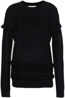 MICHAEL Michael Kors Ruffled Merino Wool Sweater