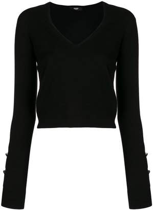 Versus long-sleeve fitted sweater