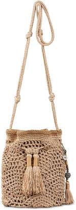 The Sak Sayulita Crochet Drawstring Crossbody