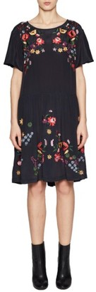Women's French Connection Alice Embroidered Dress $228 thestylecure.com