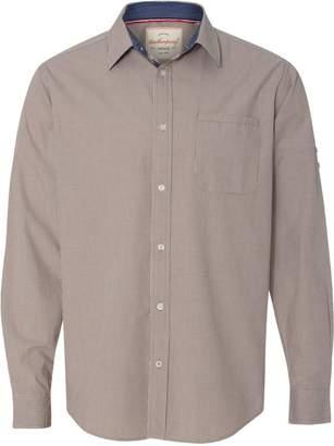 Weatherproof Vintage Mini Check Long Sleeve Shirt 154670 L