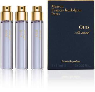 Francis Kurkdjian OUD silk mood Eau de Parfum Spray Refills, 3 x 0.37 oz.