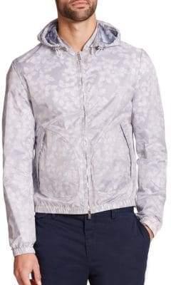 Michael Kors Floral Ripstop Jacket