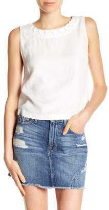 Frame Whipstitched Crop Tank Top