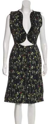 Preen by Thornton Bregazzi Floral Print Sheath Dress w/ Tags