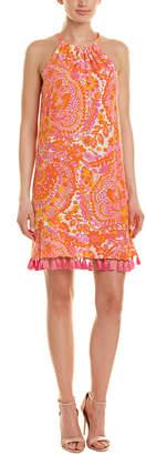 Trina Turk Rancho Silk Shift Dress