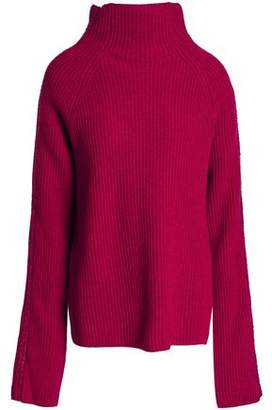 Haider Ackermann Ribbed Wool And Cashmere-Blend Turtleneck Sweater