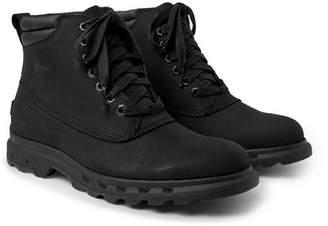 Sorel Portzman Waterproof Nubuck Boots