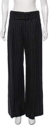 Polo Ralph Lauren Linen-Blend High-Rise Wide-Leg Pants
