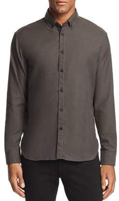 Billy Reid Irvine Micro-Herringbone Regular Fit Button-Down Shirt