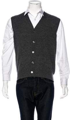 Battistoni Cashmere V-Neck Vest