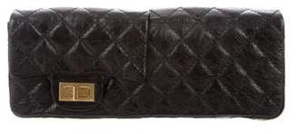 Chanel Quilted Reissue Double Flap Clutch
