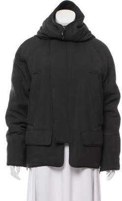 Reed Krakoff Wool-Accented Short Coat
