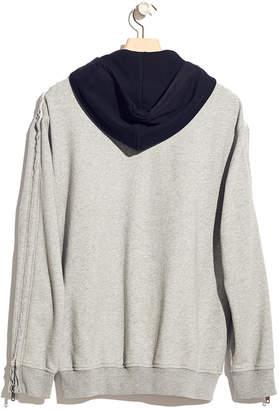 3.1 Phillip Lim Contrast-Hood Sweatshirt