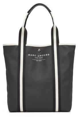 Marc Jacobs Canvas Shopper Tote $185 thestylecure.com