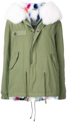 Mr & Mrs Italy contrast collar jacket