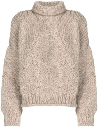 Snobby Sheep mock neck knitted sweater