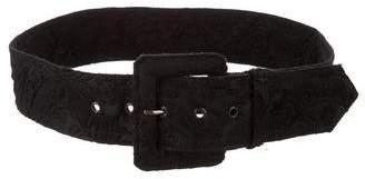 Lanvin Woven Waist Belt