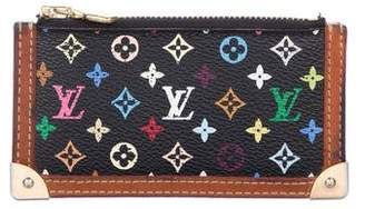 Louis Vuitton Multicolore Monogram Key Pouch