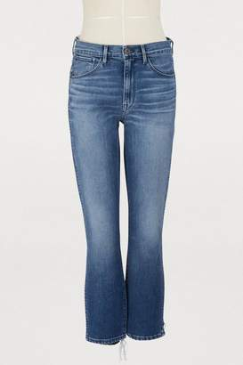 3x1 3 X 1 W3 straight authentic crop jeans