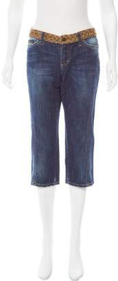 Dolce & Gabbana Mid-Rise Cropped Jeans