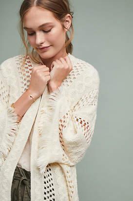 Anthropologie Leona Open-Weave Kimono