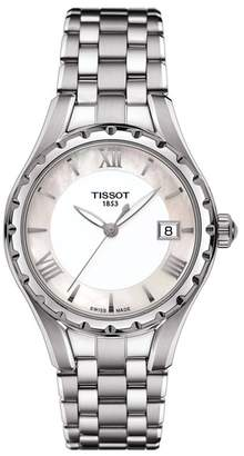 Tissot Women's T-Lady T072 Mother of Pearl Watch, 34mm