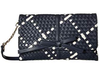 Deux Lux Barrow Bow Clutch Clutch Handbags