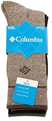 Columbia Men's Cotton Crew 3 pack