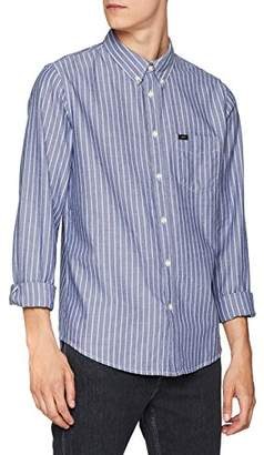 Lee Men's Button Down Casual Shirt,(Size: Medium)