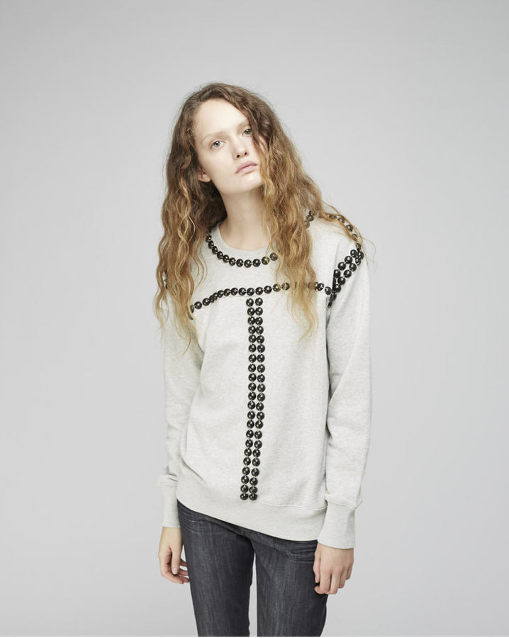 Isabel Marant scotty studded sweatshirt
