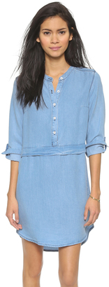 Splendid Chambray Shirtdress $185 thestylecure.com