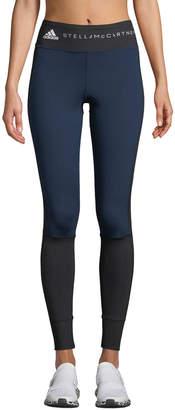 adidas by Stella McCartney Yoga Comfort Colorblock Performance Tights