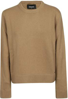 DSQUARED2 Ribbed Knit Sweater
