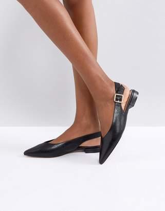 Carvela Point Flat Slingback Shoe
