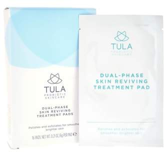TULA PROBIOTIC SKINCARE Dual Phase Skin Reviving Treatment Pads