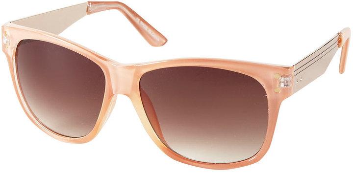Topshop Pastel Flat Top Sunglasses