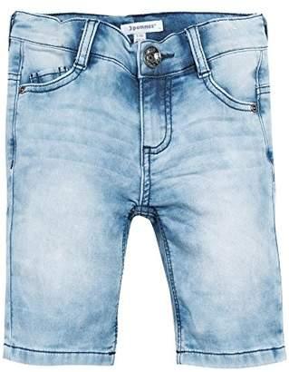 3 Pommes Boy's DEEP Summer Swim Shorts, (Bleu Ciel), (Size: 7A/8A)