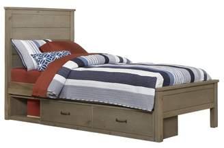 Hillsdale Furniture Highlands Alex Panel Bed with Storage