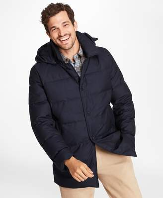 Brooks Brothers Water-Repellent Down-Filled Car Coat