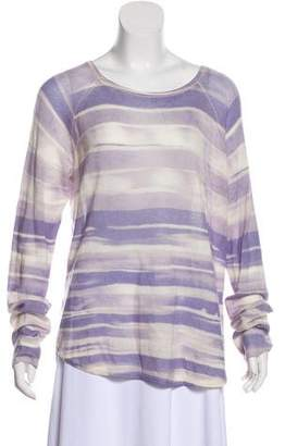 Vince Wool & Cashmere Striped Top