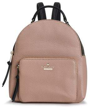 Kate Spade Keleigh Two-tone Textured-leather Backpack