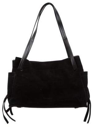Calvin Klein Collection Suede Shoulder Bag